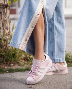 Adidas Superstar Vişne Çürüğü Bayan Ayakkabısı