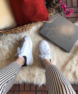 Alexander McQueen Beyaz Bayan Spor Ayakkabısı