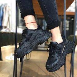 Siyah Bayan Ayakkabısı