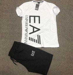 Emporio Armani T-shirt ve Şort Takımı