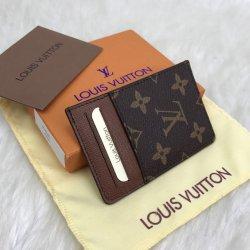 Louis Vuitton Card Holder Hakiki Deri Kartlık